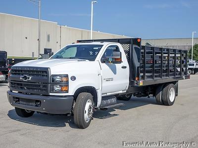 2021 Silverado 4500 Regular Cab DRW 4x2,  Monroe Truck Equipment Work-A-Hauler II Stake Bed #51183 - photo 6