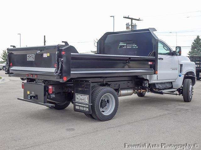 2021 Silverado 5500 Regular Cab DRW 4x4,  Monroe Truck Equipment MTE-Zee Dump Body #51192 - photo 3