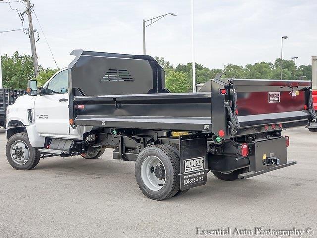 2021 Silverado 5500 Regular Cab DRW 4x4,  Monroe Truck Equipment MTE-Zee Dump Body #51192 - photo 5