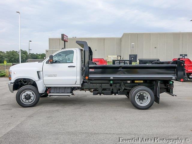 2021 Silverado 5500 Regular Cab DRW 4x4,  Monroe Truck Equipment MTE-Zee Dump Body #51192 - photo 6
