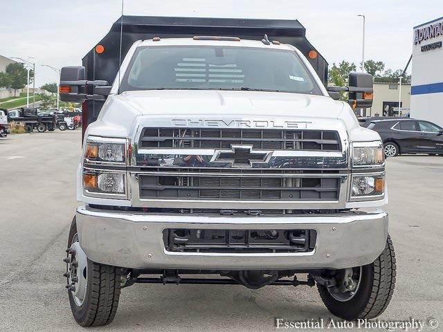 2021 Silverado 5500 Regular Cab DRW 4x4,  Monroe Truck Equipment MTE-Zee Dump Body #51192 - photo 8