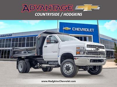 2021 Silverado 5500 Regular Cab DRW 4x4,  Monroe Truck Equipment MTE-Zee Dump Body #51192 - photo 1