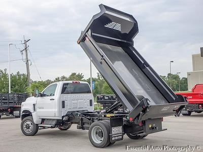 2021 Silverado 5500 Regular Cab DRW 4x4,  Monroe Truck Equipment MTE-Zee Dump Body #51192 - photo 11