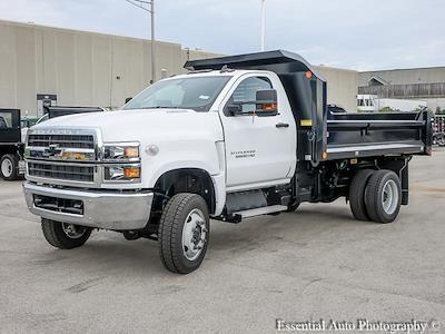 2021 Silverado 5500 Regular Cab DRW 4x4,  Monroe Truck Equipment MTE-Zee Dump Body #51192 - photo 7