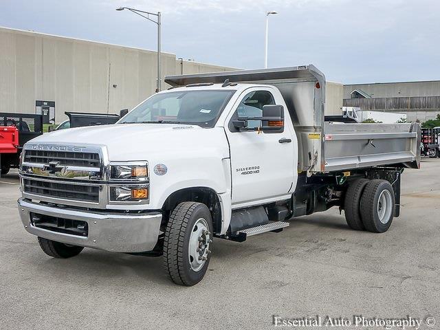 2021 Silverado 4500 Regular Cab DRW 4x2,  Monroe Truck Equipment MTE-Zee SST Series Dump Body #51193 - photo 7