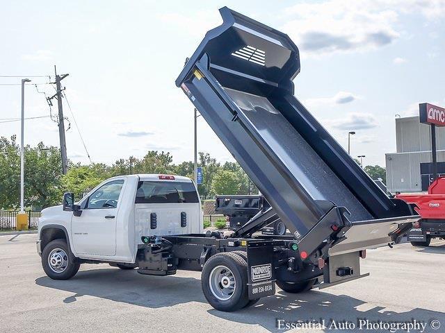 2021 Silverado 3500 Regular Cab 4x4,  Crysteel E-Tipper Dump Body #51203 - photo 11