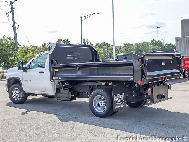 2021 Silverado 3500 Regular Cab 4x4,  Crysteel E-Tipper Dump Body #51203 - photo 5