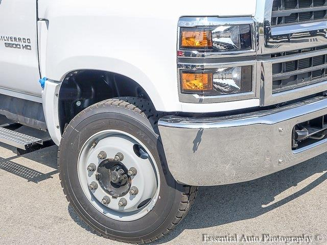 2021 Silverado 5500 Regular Cab DRW 4x2,  Monroe Truck Equipment MTE-Zee Dump Body #51214 - photo 9