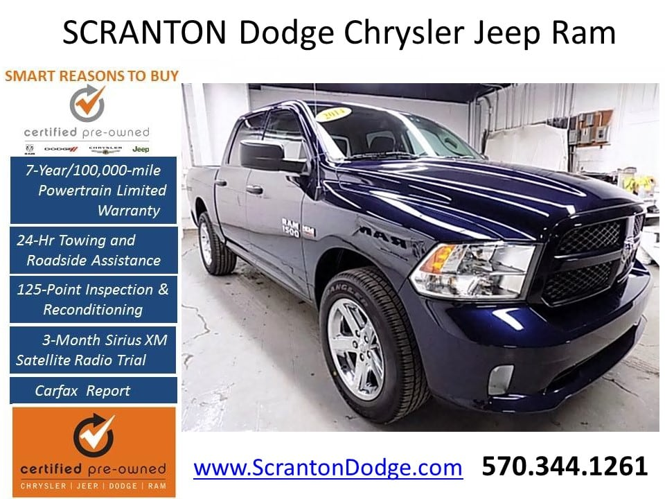 2014 Ram 1500 Crew Cab 4x4 Pickup #1709201A - photo 1