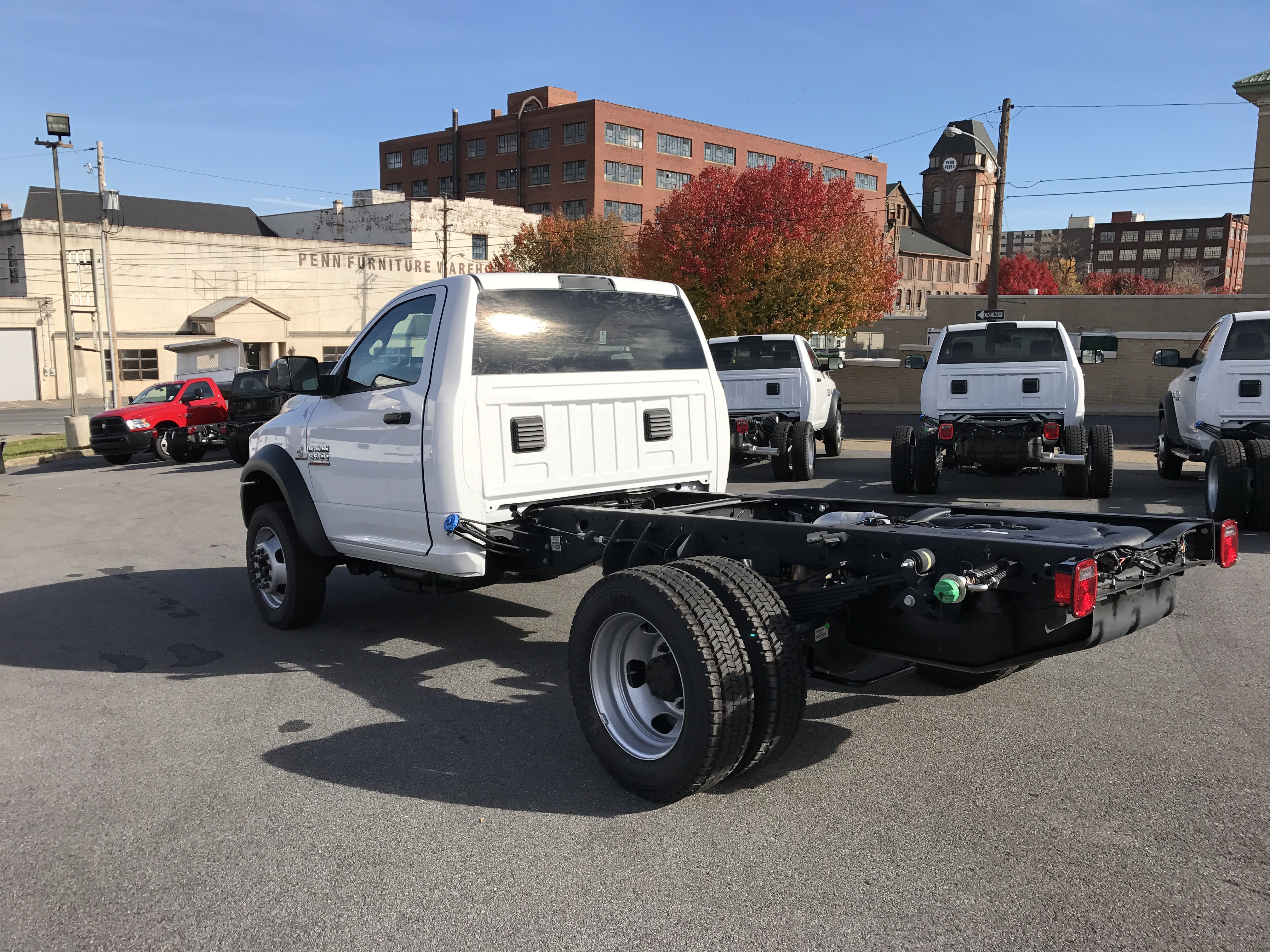 2016 Ram 5500 Regular Cab DRW 4x4, Cab Chassis #GG381484 - photo 2