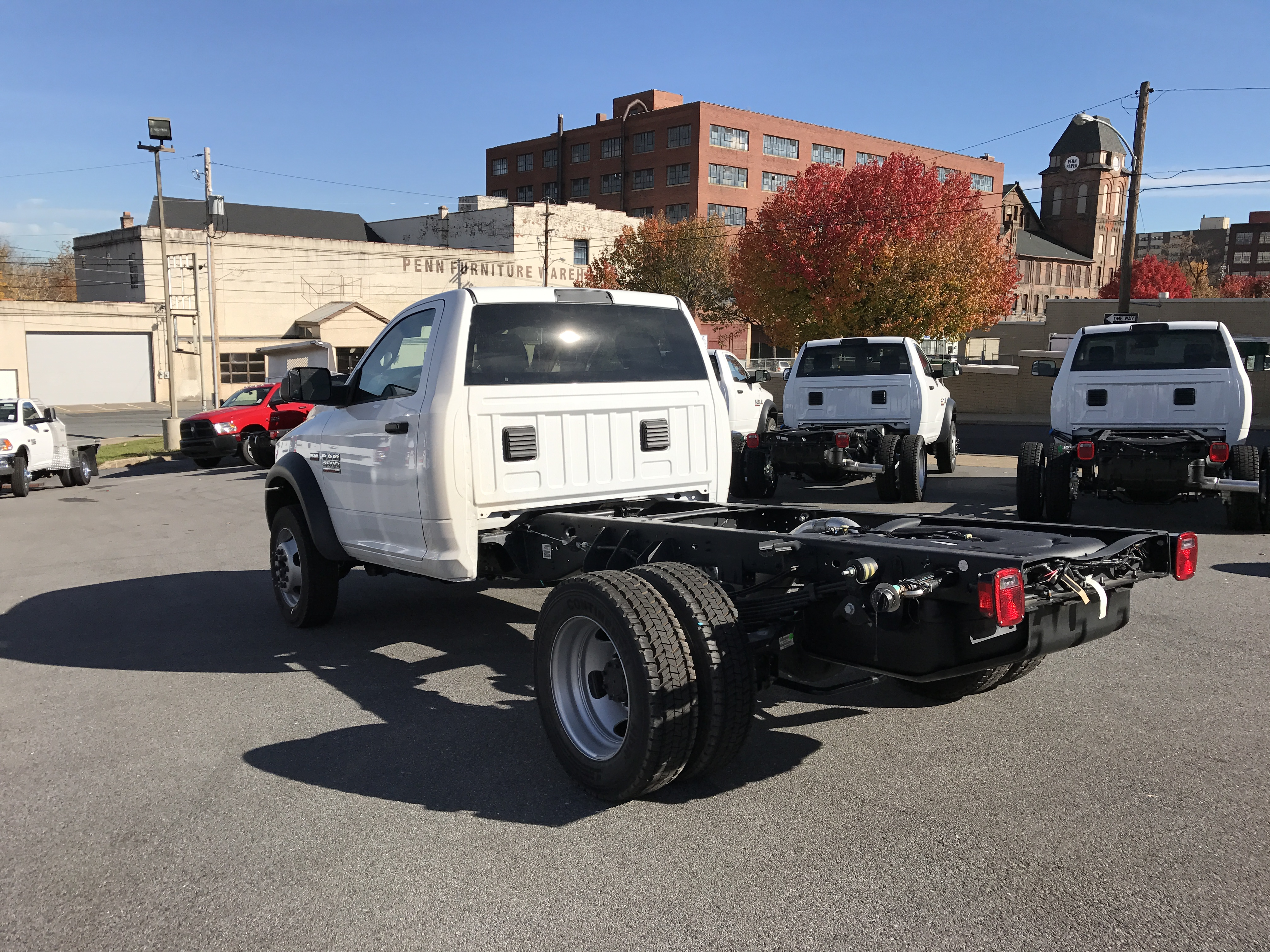 2017 Ram 4500 Regular Cab DRW 4x4, Cab Chassis #HG504539 - photo 2