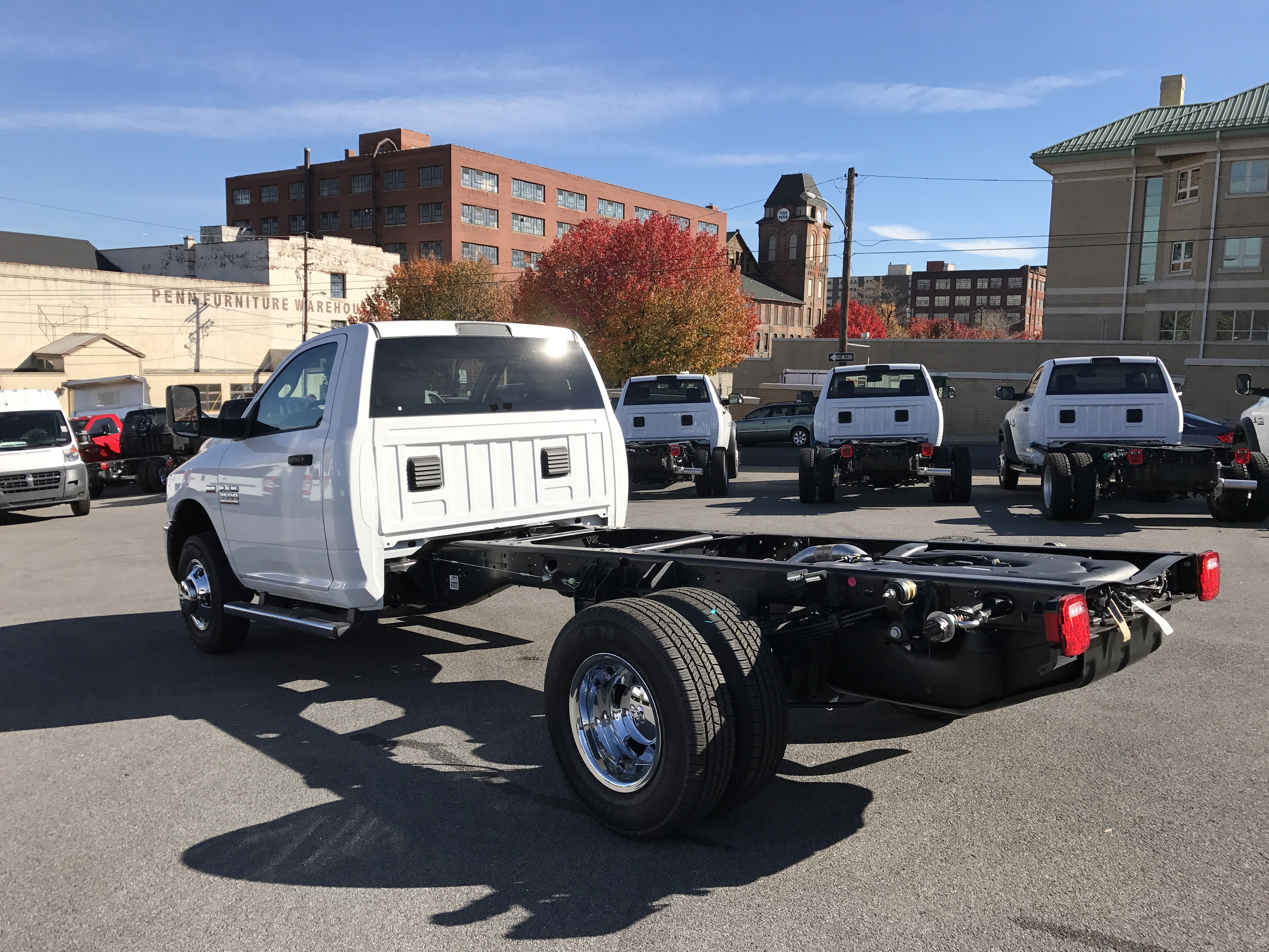 2017 Ram 3500 Regular Cab DRW 4x4, Cab Chassis #HG515177 - photo 2