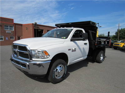 2018 Ram 3500 Regular Cab DRW 4x4,  Reading Marauder Standard Duty Dump Body #JG259368 - photo 1