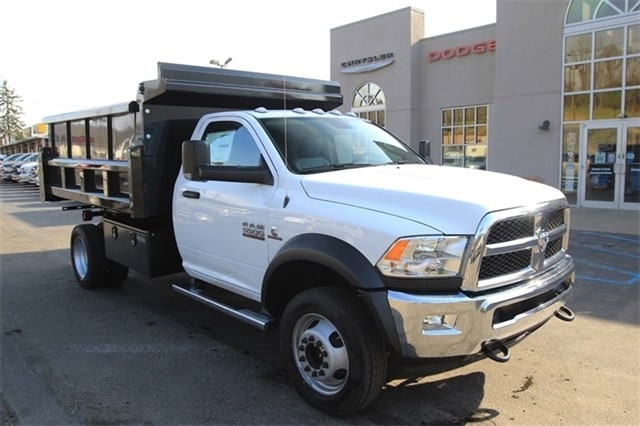 2018 Ram 5500 Regular Cab DRW 4x4,  Rugby Dump Body #JG122349 - photo 3