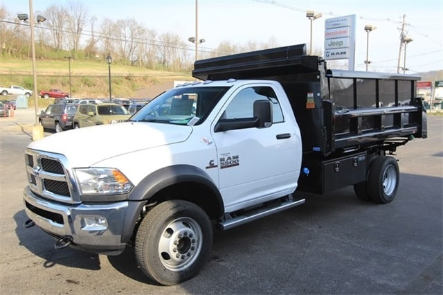 2018 Ram 5500 Regular Cab DRW 4x4,  Rugby Dump Body #JG122349 - photo 9