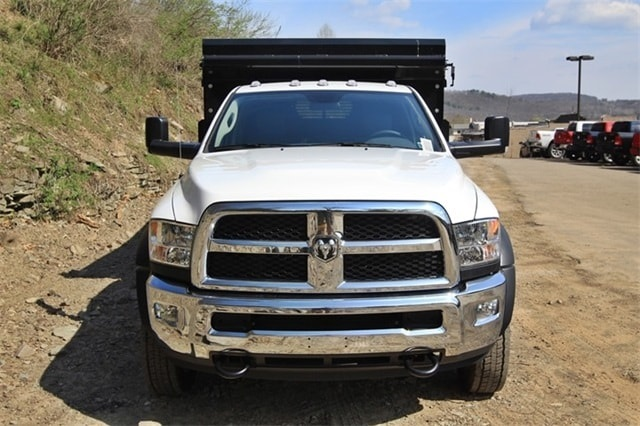2018 Ram 5500 Regular Cab DRW 4x4,  Rugby Dump Body #JG122349 - photo 10