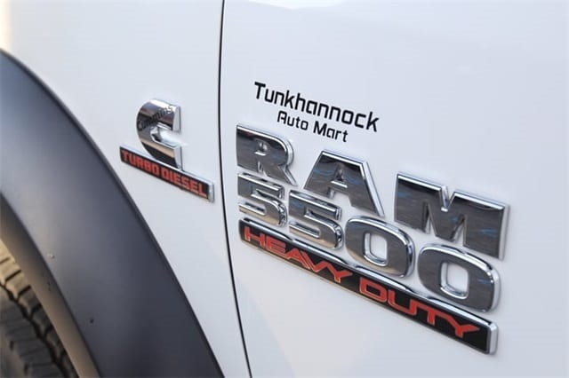 2018 Ram 5500 Regular Cab DRW 4x4,  Rugby Dump Body #JG122349 - photo 15