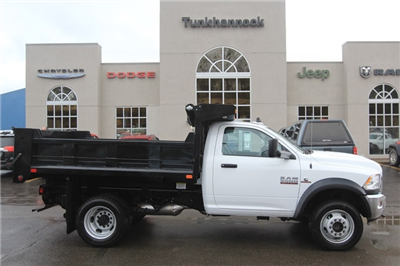 2018 Ram 5500 Regular Cab DRW 4x4,  Dump Body #JG154270 - photo 4