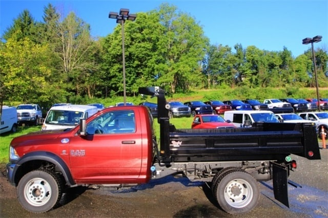 2018 Ram 5500 Regular Cab DRW 4x4,  Rugby Dump Body #JG237979 - photo 8