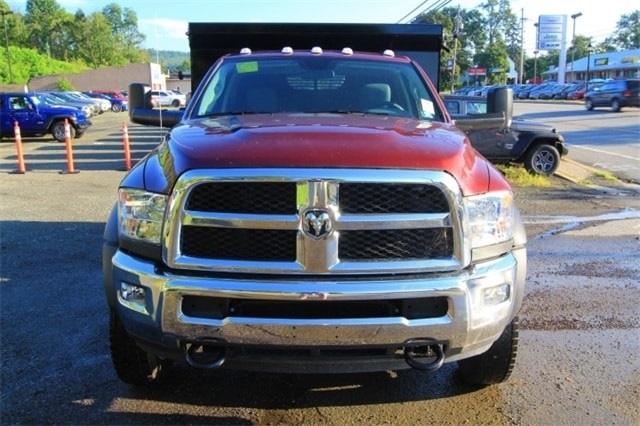 2018 Ram 5500 Regular Cab DRW 4x4,  Rugby Dump Body #JG237979 - photo 10