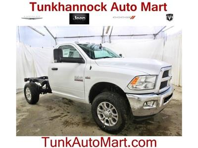 2018 Ram 3500 Regular Cab 4x4,  Cab Chassis #JG312922 - photo 1
