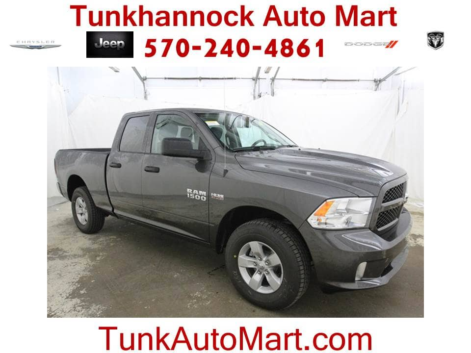 2018 Ram 1500 Quad Cab 4x4 Pickup #JS176310 - photo 1