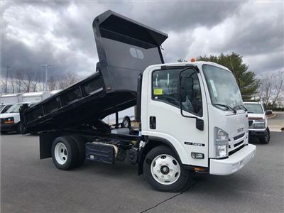 2018 NPR-HD Regular Cab,  Rugby Eliminator LP Steel Dump Body #218I003 - photo 3