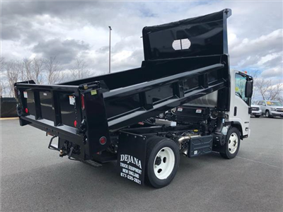 2018 NPR-HD Regular Cab,  Rugby Eliminator LP Steel Dump Body #218I003 - photo 7