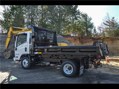 2018 NPR-HD Regular Cab,  Rugby Eliminator LP Steel Dump Body #218I066 - photo 2