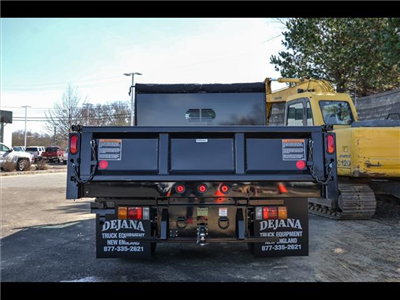 2018 NPR-HD Regular Cab,  Rugby Eliminator LP Steel Dump Body #218I066 - photo 5