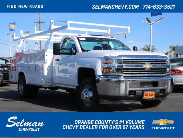 2017 Silverado 3500 Regular Cab DRW 4x2,  Royal Combo Body #173618 - photo 1