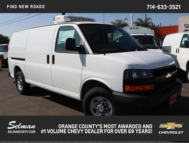 2018 Chevrolet Express 3500 4x2, Thermo King Refrigerated Body #181455 - photo 1