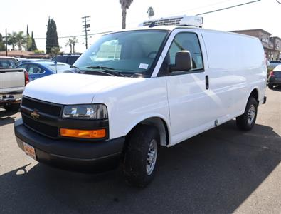 2018 Chevrolet Express 3500 4x2, Thermo King Direct-Drive Refrigerated Body #181455 - photo 12