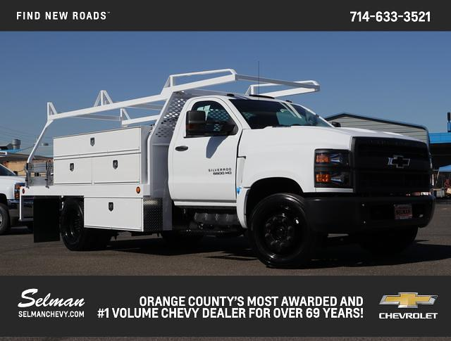 2019 Chevrolet Silverado 6500 Regular Cab DRW RWD, Scelzi Contractor Body #191476 - photo 1