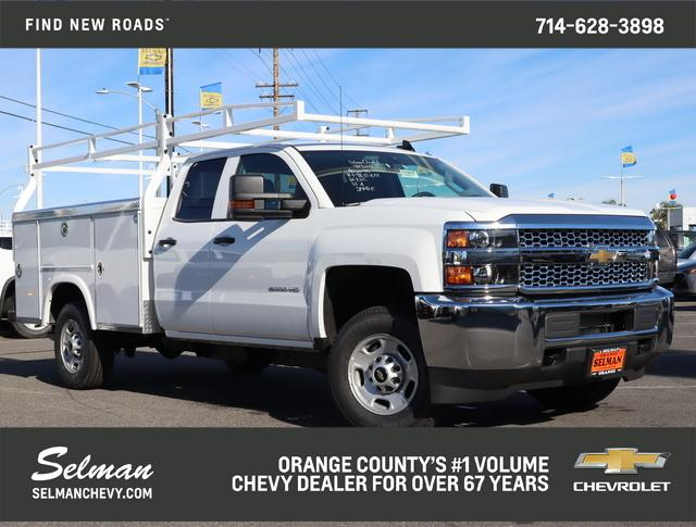 2019 Silverado 2500 Double Cab 4x2, Royal Service Body #192853 - photo 1