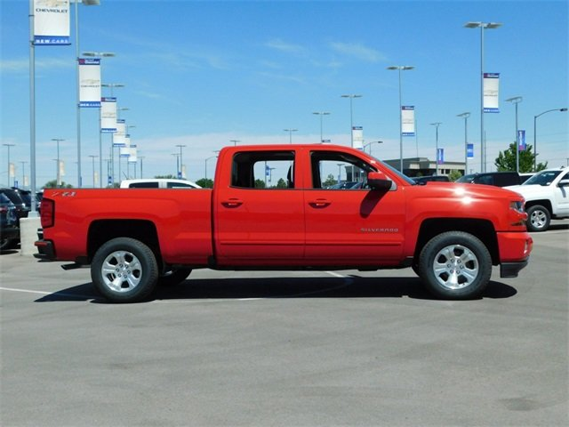 2018 Silverado 1500 Crew Cab 4x4,  Pickup #4E80569 - photo 3
