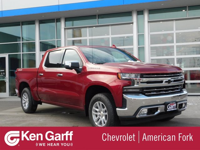 2019 Silverado 1500 Crew Cab 4x4,  Pickup #4E90243 - photo 1