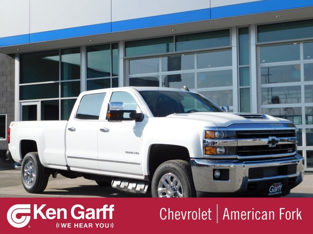 2019 Silverado 3500 Crew Cab 4x4,  Pickup #4E90299 - photo 1
