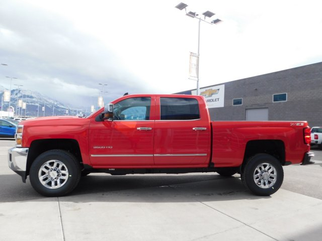 2019 Silverado 3500 Crew Cab 4x4,  Pickup #4E90314 - photo 6