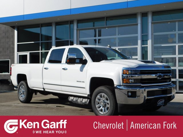 2019 Silverado 3500 Crew Cab 4x4,  Pickup #4E90346 - photo 1
