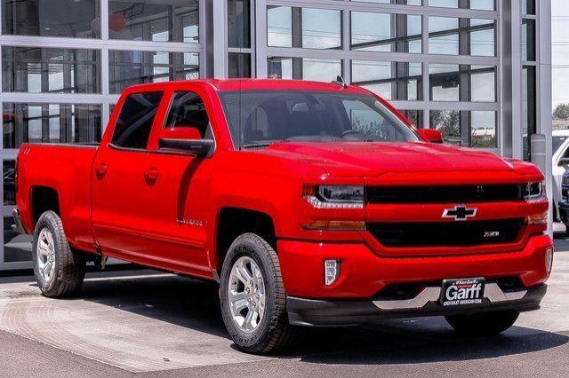 2018 Silverado 1500 Crew Cab 4x4,  Pickup #4ER80507 - photo 4