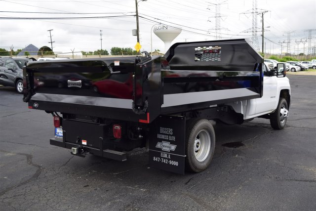 2018 Silverado 3500 Regular Cab DRW 4x2,  Knapheide Drop Side Dump Body #3180886 - photo 2
