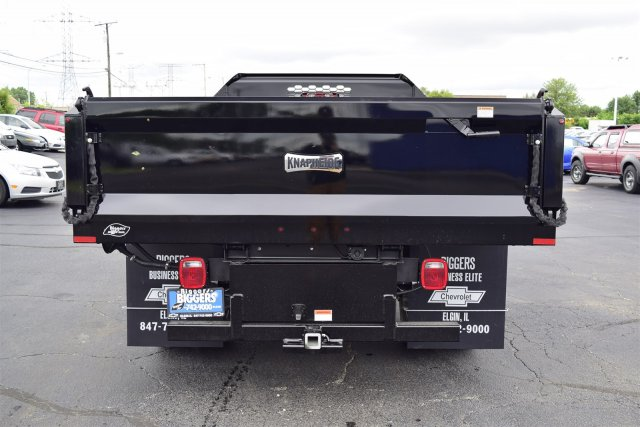 2018 Silverado 3500 Regular Cab DRW 4x2,  Knapheide Drop Side Dump Body #3180886 - photo 7