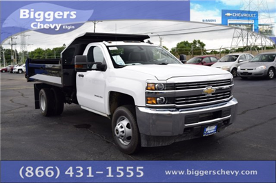 2018 Silverado 3500 Regular Cab DRW 4x2,  Knapheide Drop Side Dump Body #3180886 - photo 1