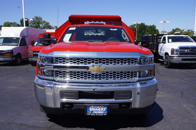 2019 Silverado 3500 Regular Cab DRW 4x4,  Knapheide Drop Side Dump Body #3190618 - photo 3