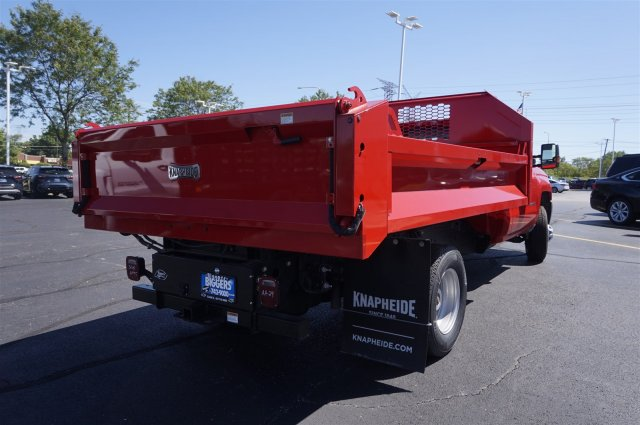 2019 Silverado 3500 Regular Cab DRW 4x4,  Knapheide Drop Side Dump Body #3190618 - photo 2