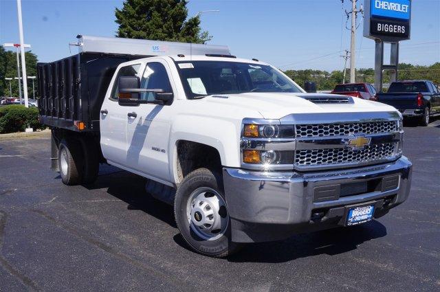 2019 Silverado 3500 Crew Cab DRW 4x4,  Monroe Poly Landscape Dump #3190654 - photo 1
