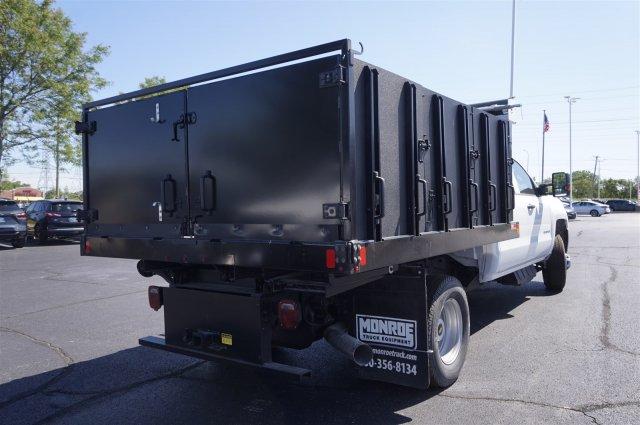 2019 Silverado 3500 Crew Cab DRW 4x4,  Monroe Poly Landscape Dump #3190654 - photo 2
