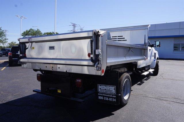 2019 Silverado Medium Duty Crew Cab DRW 4x2, Monroe MTE-Zee SST Series Dump Body #3190669 - photo 2