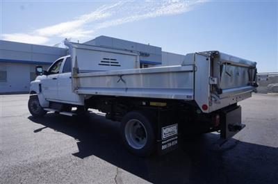 2019 Silverado Medium Duty Crew Cab DRW 4x2, Monroe MTE-Zee SST Series Dump Body #3190669 - photo 9